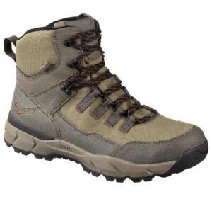 Danner Mens Vital Trail 5 Waterproof Hiking Boots Brown Olive Size 11.5 EE