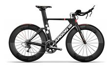 New ARGON 18 E-117 TRI ULTEGRA BIKE RACE CARBON BIKE MATT BLACK XS