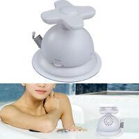 AM FM Waterproof Bathroom Shower Music Antenna Radio Suction Cup White Portable