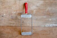 Vintage red handle slicer Cheese tomato eggs