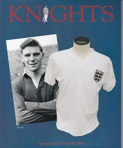 KNIGHT'S Sporting Memorabilia Auction catalogue 26, 27 Feb 2005 Cricket Football