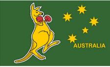 Australian Boxing Kangaroo Giant 8ftx5ft (250cmx150cm) Flag large eyelets