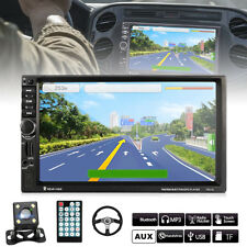 "7"" 2 DIN Auto Car MP5 Player Bluetooth Touch USB FM Stereo Radio GPS Navi+Camera"