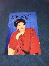 Rika Zarai Photo Dedicace Autograph Sans Chemise Sans Pantalon
