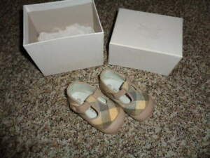 BURBERRY 19 INFANT BABY GIRLS SHOES