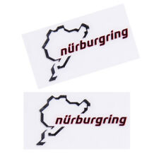 The Racing Track Nurburgring Car Sticker Race Motorsport Decor Decal
