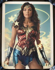 Wonder Woman Poster Art Print DC Ruiz Burgos Gal Gadot Justice League sdcc mondo