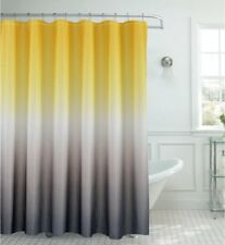 Waffle Shower Curtain Gradient Harmony of Trendy Vivid Color Modern Design