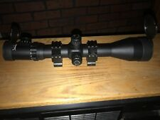 Vision king long range scope with new rings red or green dot quick flip caps