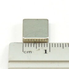 Set Of 10 Pieces of 10mm x 10mm x 2mm Strong Rare Earth Neodymium Magnets N52