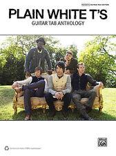 Plain White T's - Guitar TAB Anthology Book *NEW* Sheet Music, Song, Tablature