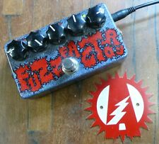 ZVex Fuzz Factory Hand Painted Guitar Effects Pedal + Box