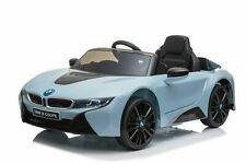 Kinder Elektro Auto BMW i8 Kinderauto Elektrofahrzeug Elektroauto in Blau 12V
