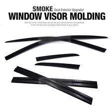 Door Window Smoke Vent Visor Rain Guard Deflector 6P for JEEP 2015-17 Compass