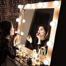 Hollywood 10 LED Kosmetikspiegel Licht Kit mit dimmbaren Schminkspiegel Lichter