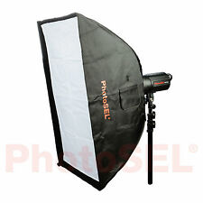 PhotoSEL sbsr8x12 80 x 120 cm softbox Bowens S tipo velocità Anello Studio Luce Flash