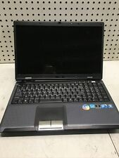 New listing Msi A6000 Intel Core 2 Duo - Broken hinge - Boots - No Hdd/Ram - Parts Only