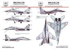 Hungarian Aero Decals 1/32 MIKOYAN MiG-29B & MiG-29UB Fighter