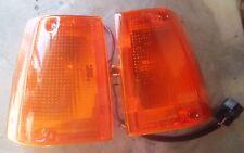 MAZDA P/U B2000 B2200 UTE MODEL 1986 94 FRONT CORNER LIGHTS PAIR LEFT +  RIGHT