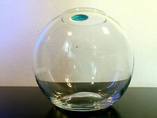 Stylische Süssmuth Glas Vase -  70-er Jahre