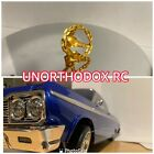 Redcat Jevries Rc SixtyFour Impala 3D Printed Gold Color Chain Steering Wheel