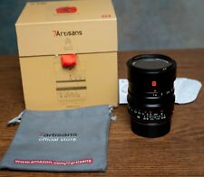 7 Artisans 35mm F1.4 Wide Angle Prime Lens practical for Leica M Mount Cameras