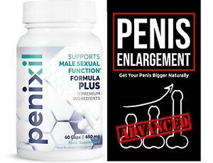 Male Enhancement, Thicker, Stronger, Erection, Penixil Penis Enlarger Pills!