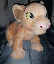 "Disney The Loin King Nala Plush Genuine Original Authentic Disney Store 14"" Used"