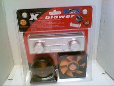 Thermaltake X-blower A1869 80mm 2Ch VR Fan Kit w/ Dual Fan Speed Control Panel