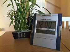 Kadio Watches Hanging Desk Office Wall Digital LCD Clock Calendar Temperature KD 3810 Square