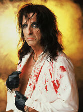 Alice Cooper  10x 8 UNSIGNED photo - P1420 - Ballad Of Dwight Fry & Clones