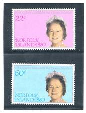 NORFOLK ISLAND 1980 Queen Mother Elizabeth