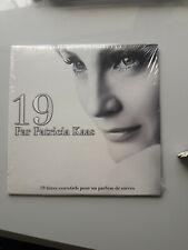 Patricia KAAS PROMO album complet scellé et rare ! intitulé 19.