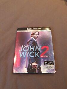 John Wick 2 4k Blu Ray