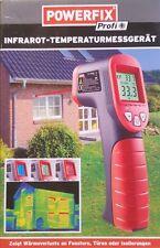 Powerfix Infrarot Temperatur Messgerät - 50°  + 380° Thermometer Lasermessung