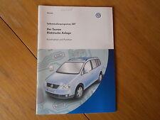VW der Touran elektrische Anlage SSP 307