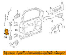 GM OEM Front Door-Door Lock Kit 15110507
