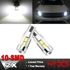 2X High Auto LED T10 5730-10SMD Car HID Canbus Error Free Wedge Light Bulb Lamp