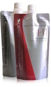 Hair Perm Shiseido Crystallizing Straight Cream H1 2 Coarse Resistant Hair