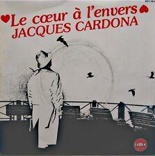 JACQUES CARDONA le coeur à l'envers/bonga din mon etoile SP PROMO 1984 SABAN NM+
