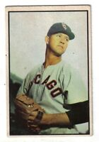 1953 Bowman Color Baseball Card #88 Joe Dobson Chicago White Sox EX+