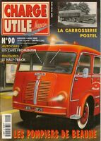 CHARGE UTILE 90 CARROSSERIE POSTEL SAPEURS POMPIERS DE BEAUNE CARS FROMENTIN