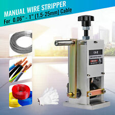 Manual Copper Wire Stripping Machine Cable Peeling Stripper Recycling 1.5~25mm