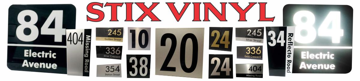 Stix Vinyl Signs