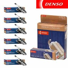 6 - Denso Iridium Long Life Spark Plugs 2001-2003 Isuzu Rodeo Sport 3.2L