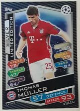 Topps Limited Edition Match Attax Champions League 2016-17 Thomas Müller Silver