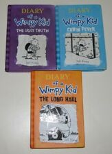Lot of 3 Diary of a Wimpy Kid Hardcovers by Jeff Kinney - #5, 6, 9