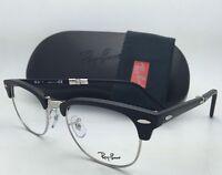 New FOLDING RAY-BAN Eyeglasses RB 5334 2077 51-21 145 Matte Black & Silver Frame
