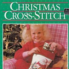 Christmas Cross Stitch Pattern HC 79pages Book Better Homes Gardens BHnG 1987
