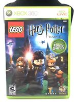 Lego Harry Potter Xbox 360 Years 1-4 Microsoft Video Game W/Manual